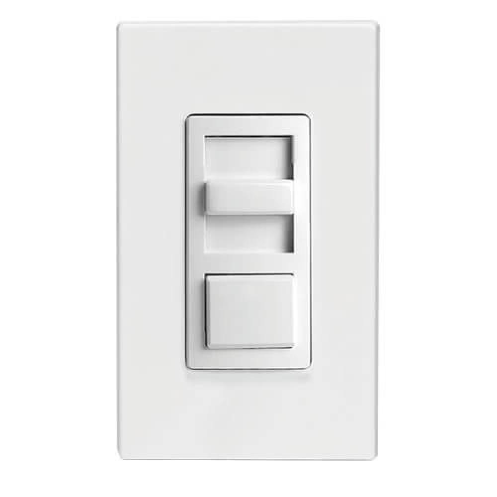 3-Way LED/CFL/incandescent Slide Dimmer-White, Ivory, Light Apricot(600W)