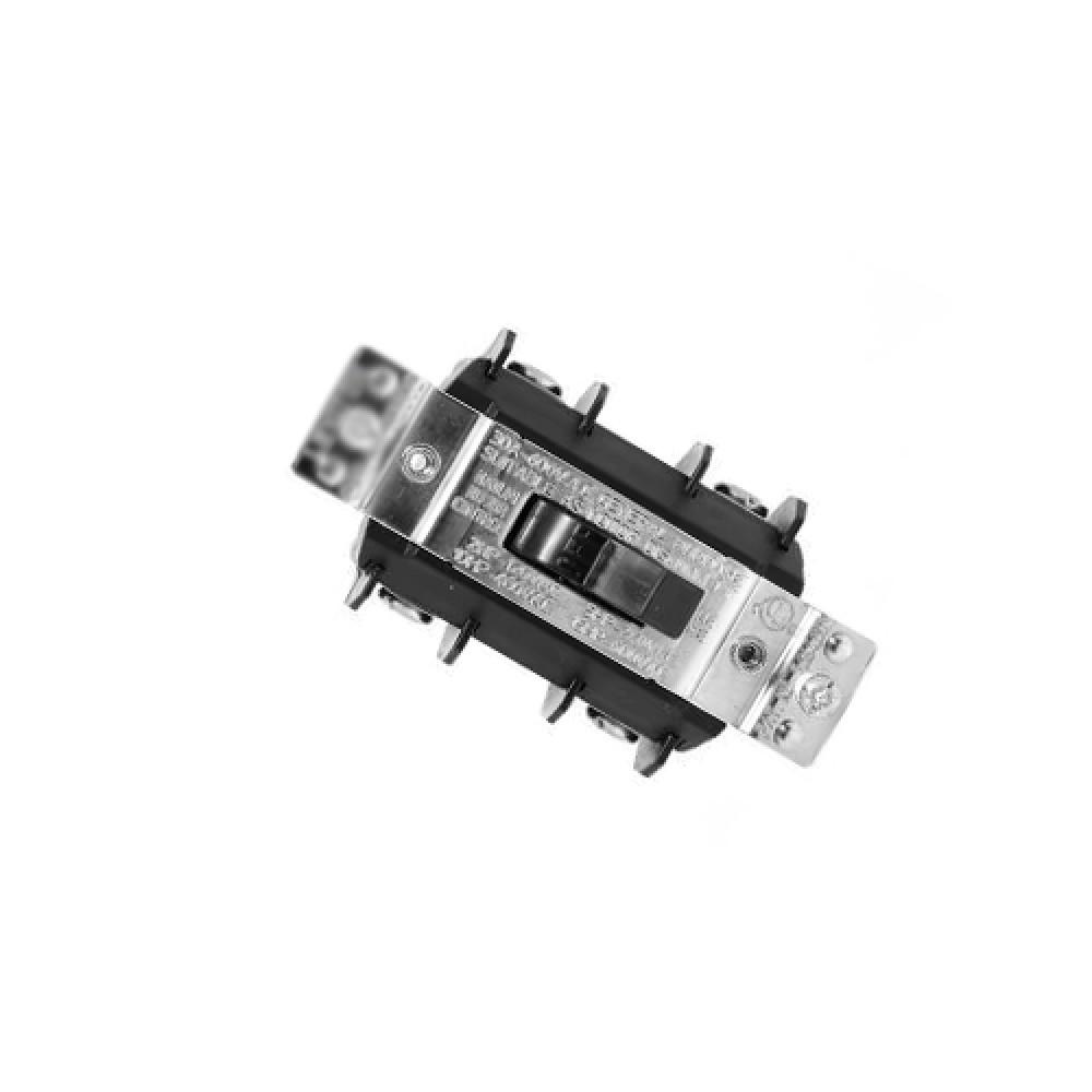 30A (600V) 3P, 3-Phase, Manual Motor Toggle Switch - Black