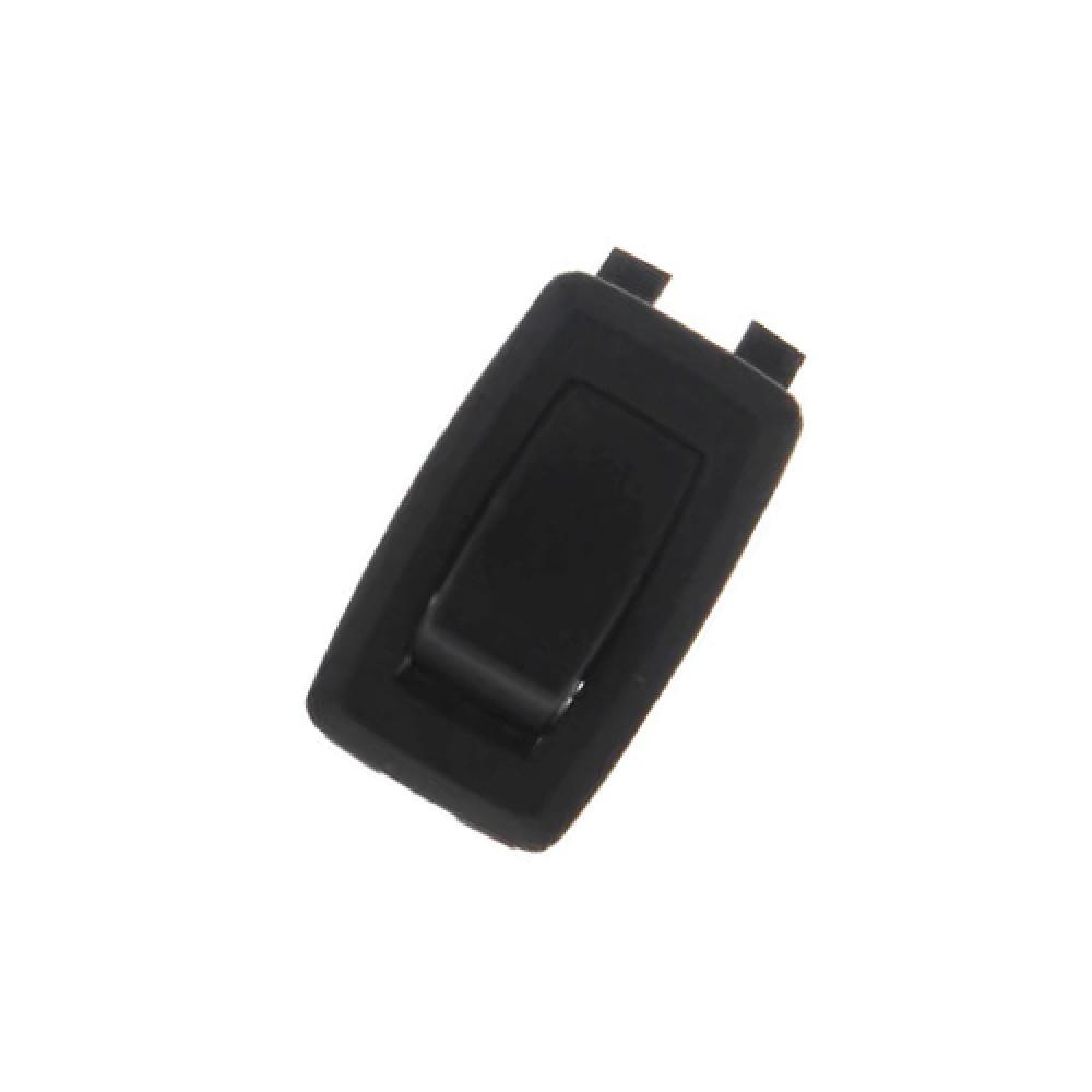 On-Off SPST Black Appliance Rocker Switch with Spade Terminal (125/250V)
