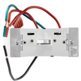Toggle Slide Dimmer, 1000W-120VAC Incandescent Lamp, 1000VA-120VAC MLV, 400W-120VAC