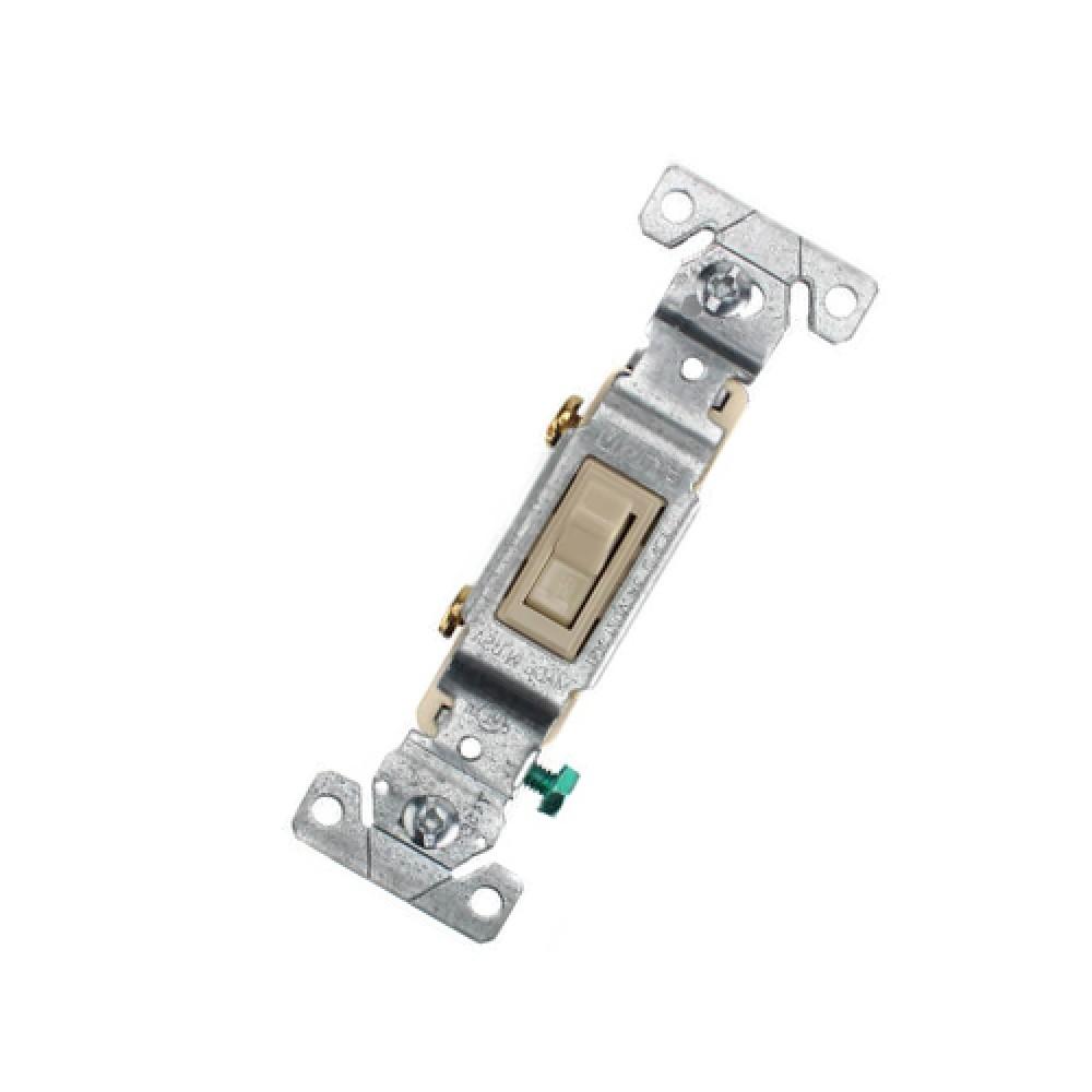 1P ivory toggle switch, 15A (120V)*10