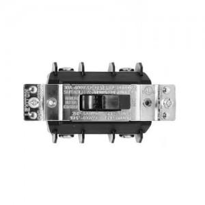 2P, 1 phase, black manual motor toggle switch, 30A (600V)